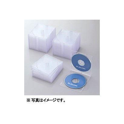 CCD-JSCSW50CR [Blu-ray/DVD/CDスリムプラケース (2枚収納/50パック) クリア]