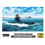 1/350 WOLWP13501 214型 Uボート