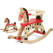 キャラメル・ロッキングホース [木製玩具 1歳~]