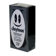 モデリングクレイ claytoon1/4bar(1/4Pound) ブラック [工作用ねんど]