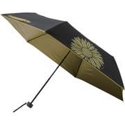 晴雨兼用折りたたみ傘 99.9% 折りたたみ傘 6本骨 50cm サンフラワー [MBU-UVQ08]