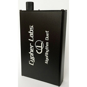ALGORHYTHM DUET BLACK バランス伝送対応ポータブルアンプ ブラック
