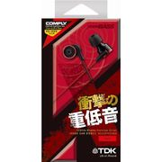 TH-XEC300RD [重低音 CLEF-X Pemium Red]