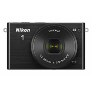 Nikon1 J4 標準パワーズームレンズキット ブラック [ボディ+交換レンズ「NIKKOR VR 10-30mm f/3.5-5.6 PD-ZOOM」]