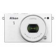 Nikon1 J4 標準パワーズームレンズキット ホワイト [ボディ+交換レンズ「NIKKOR VR 10-30mm f/3.5-5.6 PD-ZOOM」]