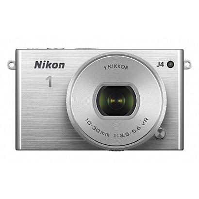 Nikon1 J4 標準パワーズームレンズキット シルバー [ボディ+交換レンズ「NIKKOR VR 10-30mm f/3.5-5.6 PD-ZOOM」]