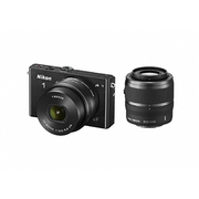 Nikon1 J4 ダブルズームキット ブラック [ボディ+交換レンズ「NIKKOR VR 10-30mm f/3.5-5.6 PD-ZOOM」「NIKKOR VR 30-110mm f/3.8-5.6」]