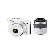 Nikon1 J4 ダブルズームキット ホワイト [ボディ+交換レンズ「NIKKOR VR 10-30mm f/3.5-5.6 PD-ZOOM」「NIKKOR VR 30-110mm f/3.8-5.6」]