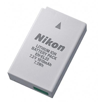 EN-EL22 [Li-ion リチャージャブルバッテリー Nikon 1 J4用]