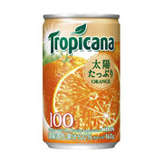 トロピカーナ 100%ジュース オレンジ [果実飲料 160ml缶×30本]