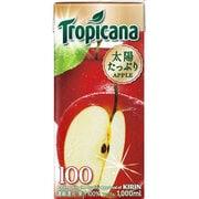 トロピカーナ 100%アップル 紙容器 [果実飲料 1000ml×6本]