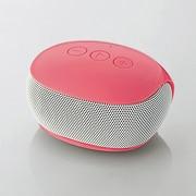 LBT-SPP20PN [Bluetooth モノラルスピーカー ピンク]