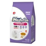 メディファス [猫用 キャットフード インドアキャット 11歳から 老齢猫用 チキン&フィッシュ味 1.4kg]
