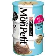モンプチ テリーヌ仕立てなめらか白身魚ツナ入り 3缶 [猫用 キャットフード]