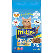 フリスキードライ ミックス [猫用 キャットフード 2.3kg]