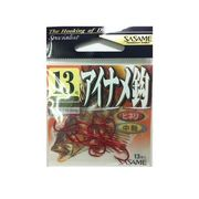 AB-02 アイナメ鈎 (レッド) 13号