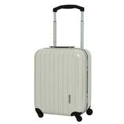 SK-0679-49 [スーツケース 旅行日数目安:1~2泊 38L TSAロック搭載 機内持ち込み可 ホワイトカーボン]