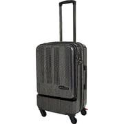 SK-0685-57 [スーツケース フロントオープン 旅行日数目安:2~3泊 52L/58L(拡張時) TSAロック搭載 ブラックカーボン]