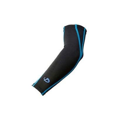 スポーツスリーブX30 腕用(2枚入) ブラック×ブルー L [スポーツスリーブ]