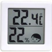 O-257WT [小さいデジタル温湿度計]