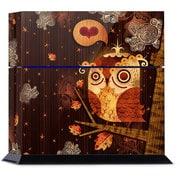 PS4 用スキンシール The Enamored Owl [PlayStation4用アクセサリー]