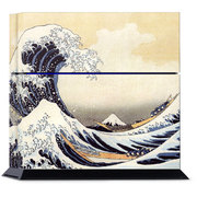 PS4 用スキンシール The Great Wave [PlayStation4用アクセサリー]