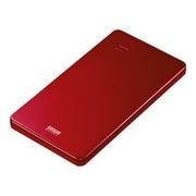BTL-RDC7R [スマートフォン・タブレット用モバイルバッテリー 5000mAh USB出力:2ポート 最大合計:2A (レッド)]