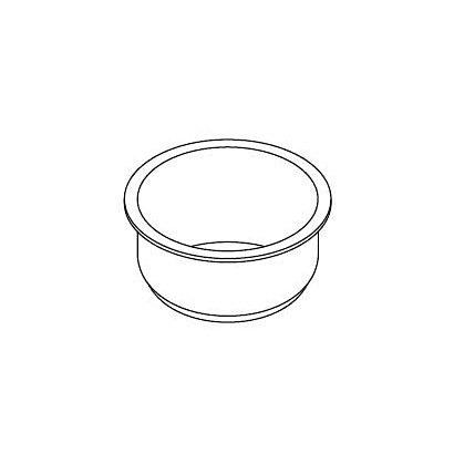 320WW071 [炊飯器用 内釜 鍛造ダイヤモンド銀釜]