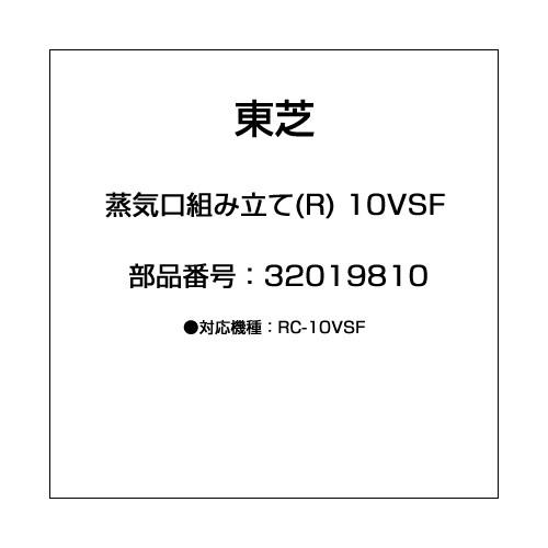 32019810 [蒸気口組み立て(R) 10VSF]