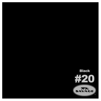 サベージNo20 ブラック 70cm×5.5m [バックグラウンドペーパー]