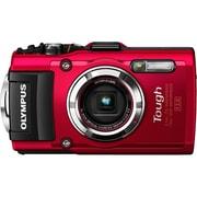 STYLUS(スタイラス) TG-3 RED [コンパクトデジタルカメラ T(Tough)シリーズ レッド]