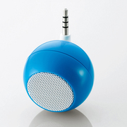 ASP-SMP050BU [3.5φ スマートフォン用 モノラルスピーカー ブルー]