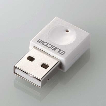 WDC-300SU2SWH [無線LAN子機 11n/g/b 300Mbps USB2.0用 ホワイト]