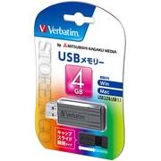 USBP4GVZ2 [USB2.0対応 スライド式USBメモリ 4GB 黒]