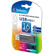 USBP16GVZ2 [USB2.0対応 スライド式USBメモリ 16GB 黒]