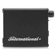 THE INTERNATIONAL+/BLACK [ポータブルヘッドホンアンプ+DAC ブラック ハイレゾ音源対応]
