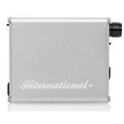 THE INTERNATIONAL+/SILVER [ポータブルヘッドホンアンプ+DAC シルバー ハイレゾ音源対応]