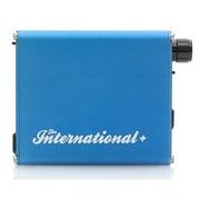 THE INTERNATIONAL+/BLUE [ポータブルヘッドホンアンプ+DAC ブルー ハイレゾ音源対応]