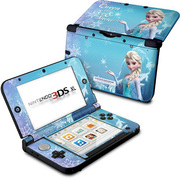 Nintendo 3DSLL Skin Queen of Ice and Snow [3DS LL用 ドレスアップシール]