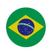 027956 [ワールドフラッグコースター BRAZIL ブラジル]
