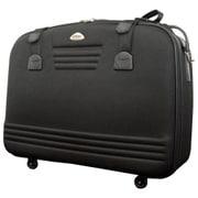 C3011T-77 [スーツケース ブラック ソフト ファスナー 144L]