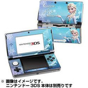 Nintendo 3DS Skin Queen of Ice and Snow [3DS用ドレスアップシール]