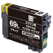 ECI-E69L-B ICBK69L [リサイクルインクカートリッジ 大容量ブラック(顔料)]