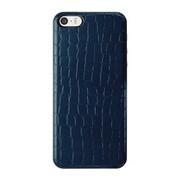 ICCS BL-L IC-COVER Slim Leather ブルー [iPhone 5/5s対応薄型ICカードケース]