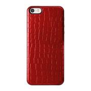 ICCS RE-L IC-COVER Slim Leather レッド [iPhone 5/5s対応薄型ICカードケース]