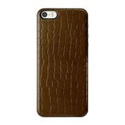 ICCS DB-L IC-COVER Slim Leather ダークブラウン [iPhone 5/5s対応薄型ICカードケース]