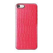 ICCS PI-L IC-COVER Slim Leather ピンク [iPhone 5/5s対応薄型ICカードケース]