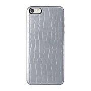 ICCS SI-L IC-COVER Slim Leather シルバー [iPhone 5/5s対応薄型ICカードケース]