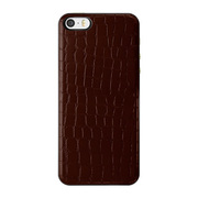 ICCS WR-L IC-COVER Slim Leather ワインレッド [iPhone 5/5s対応薄型ICカードケース]