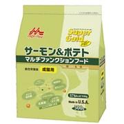 Super Gold (スーパーゴールド) サーモン&ポテト マルチファンクションフード [成猫用 ドライフード 500g]